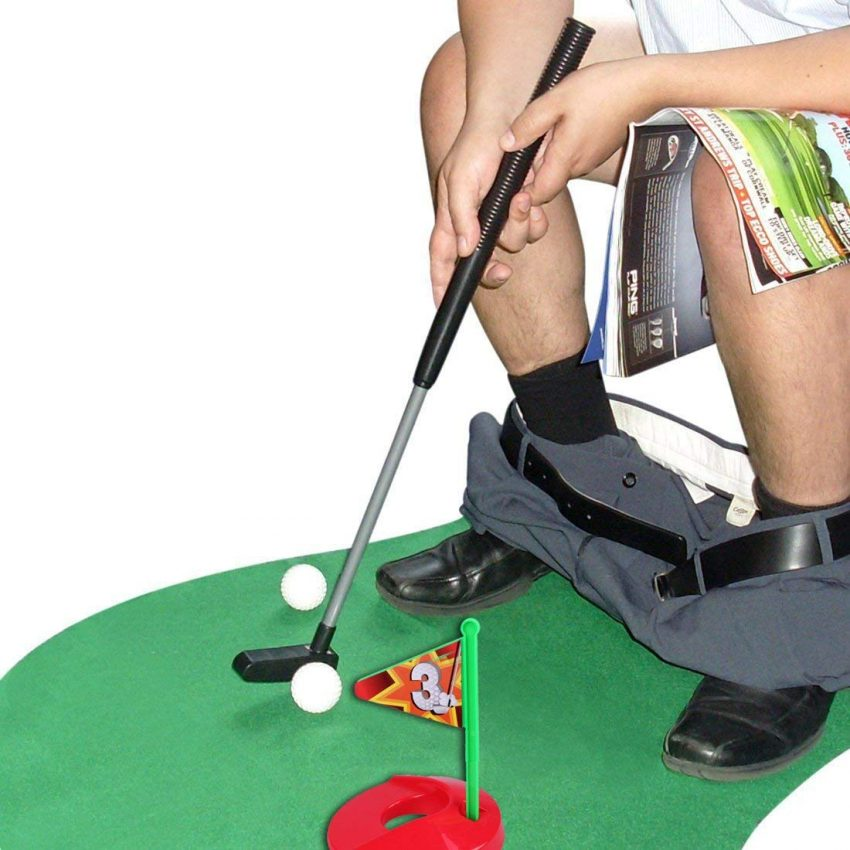 20 White Elephant Gift Ideas Your Staff Won't Want to Pass Up - Toilet Golf