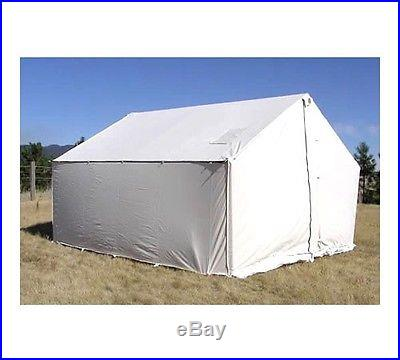 New 12x14 Canvas Wall Tent Water Mildew Treated 3