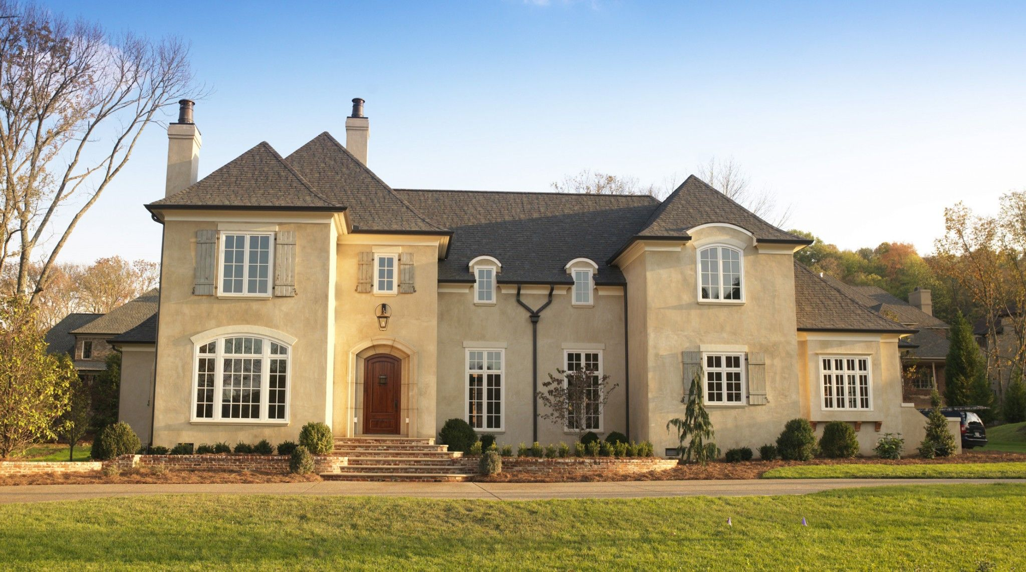 french country characterized white windows country house plans porches country house plans open country