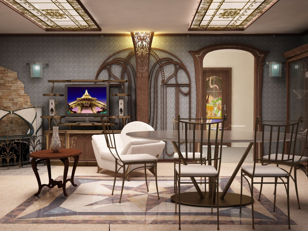 Different Interior Design Styles Art Nouveau Interior Design Style