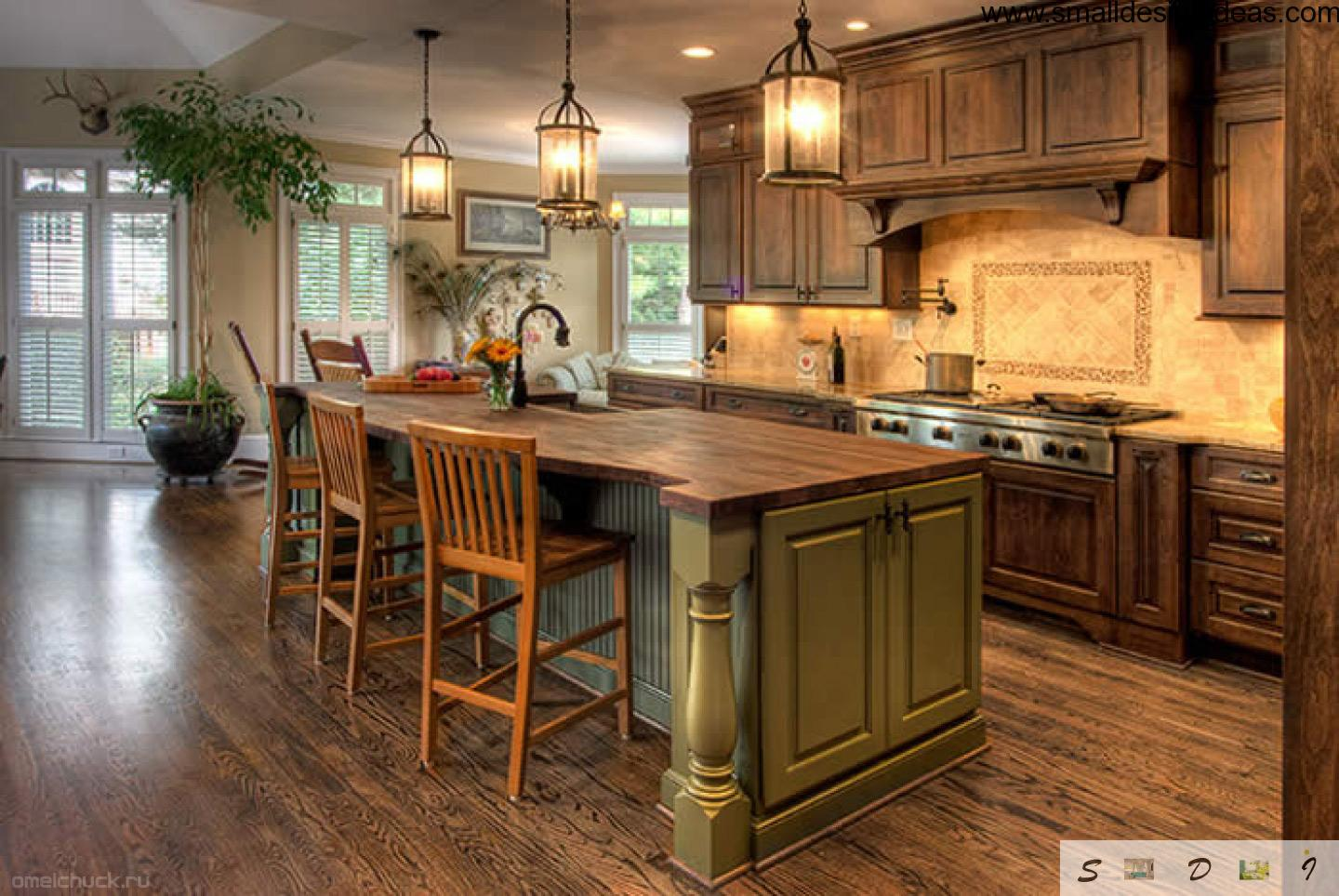 english style country kitchen design island layout wooden trimming create country kitchen design ideas kitchen design ideas