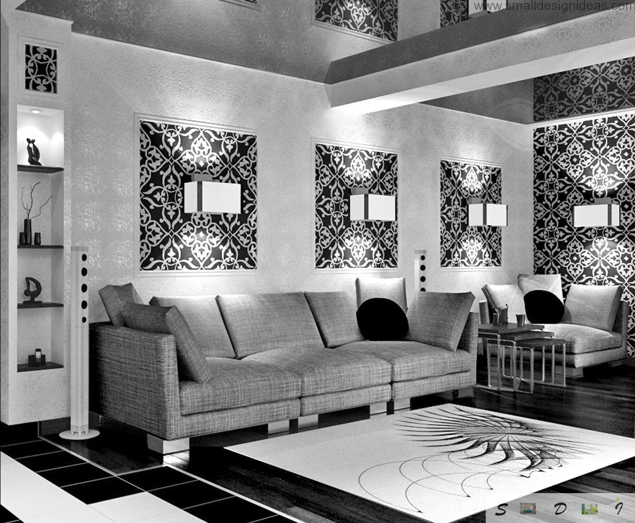 Black And White Pictures For Living Room Black And White Living Room
