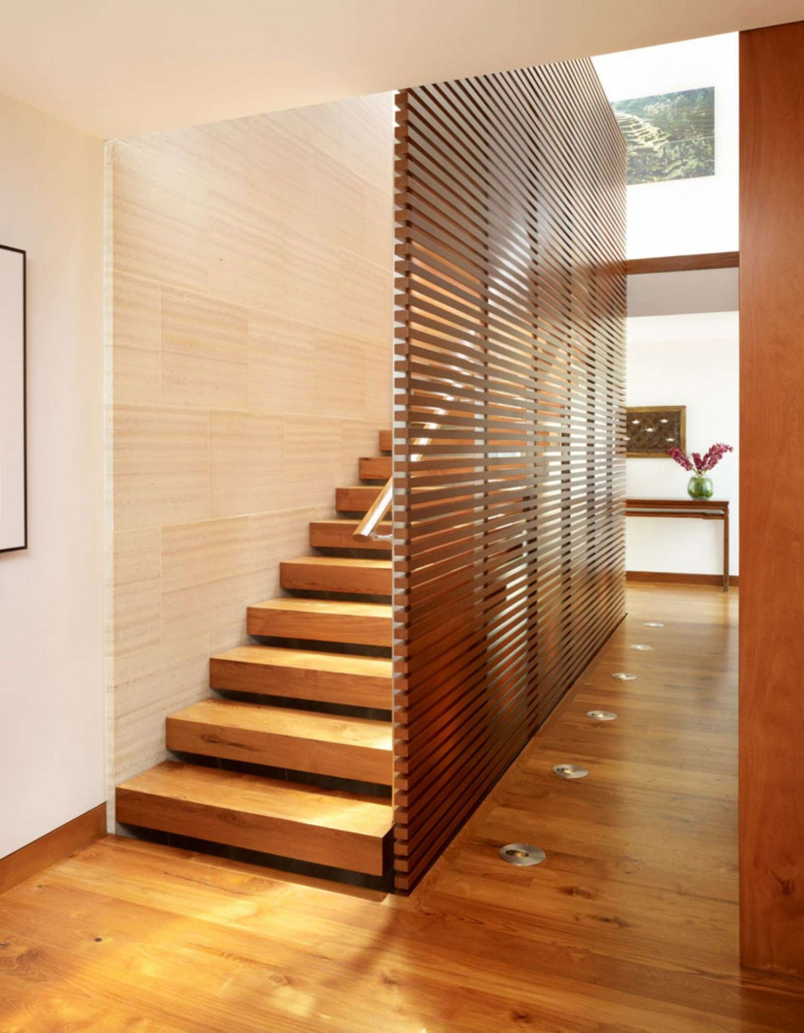 Interior Staircase Designs Modern Interior Staircase Materials Photo