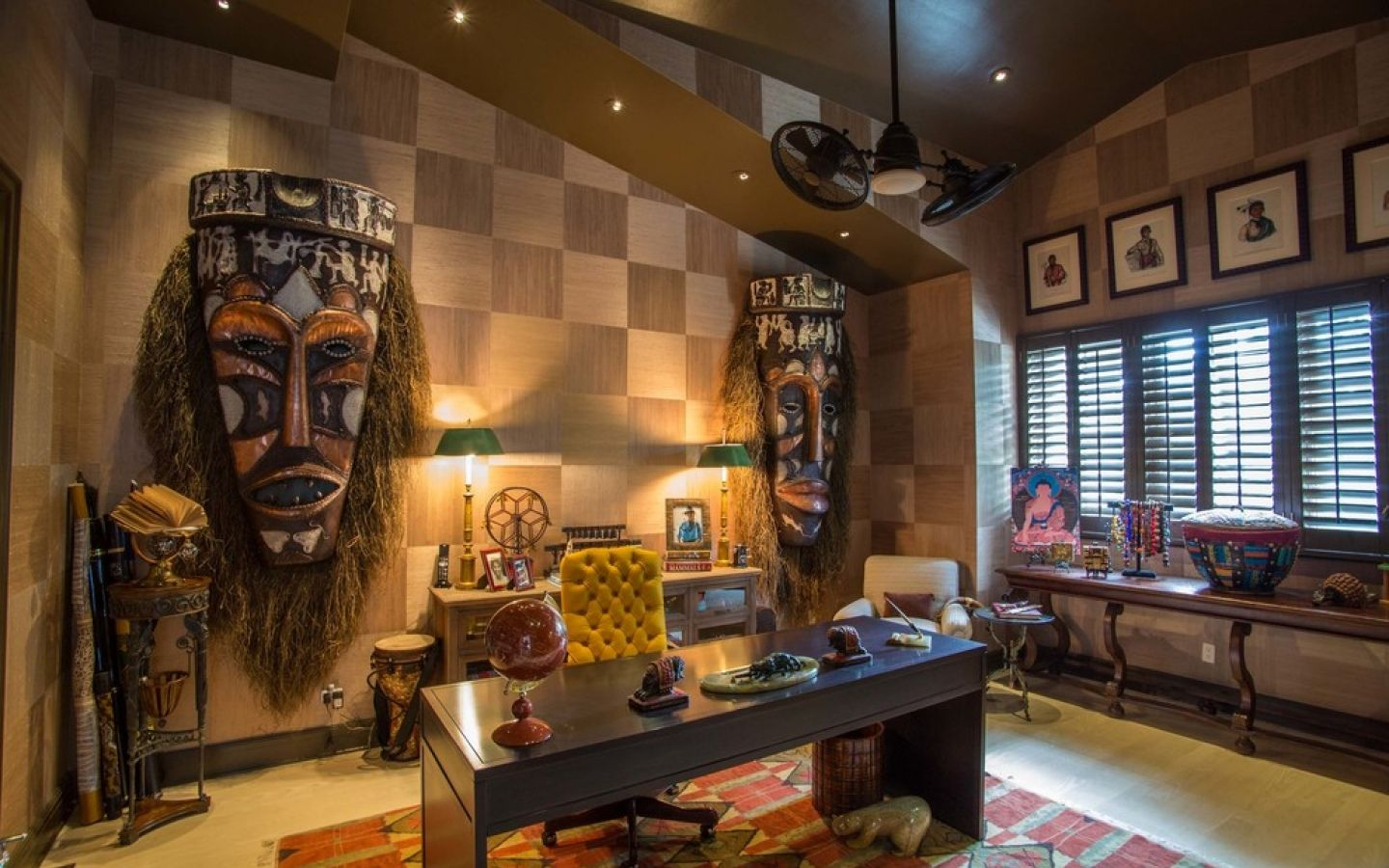 African Style Living Room African Interior Design Style Small Design Ideas