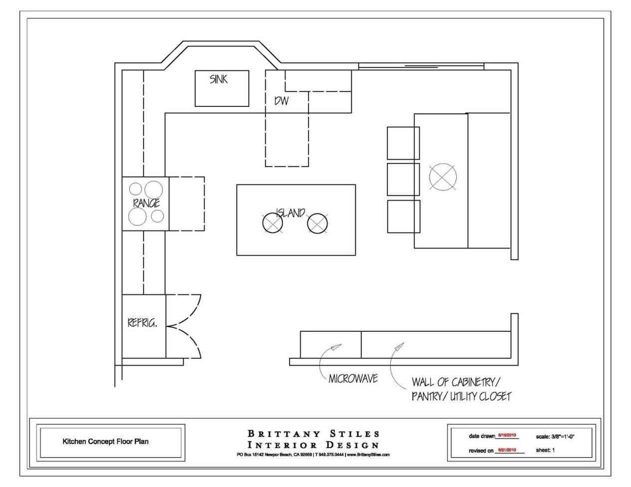 Kitchen Plans Detailed All Type Kitchen Floor Plans Review Small