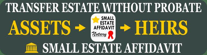 Free Small Estate Affidavit Form - Small Estate Affidavit Form