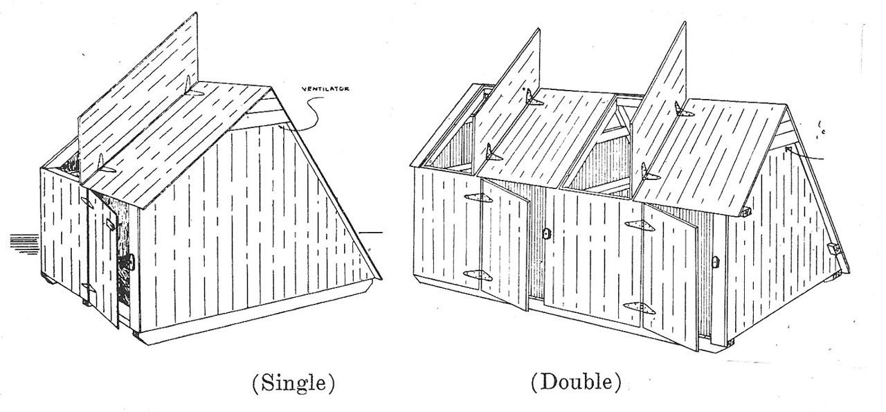 Plans For Hog Houses Small Farmer39s Journal