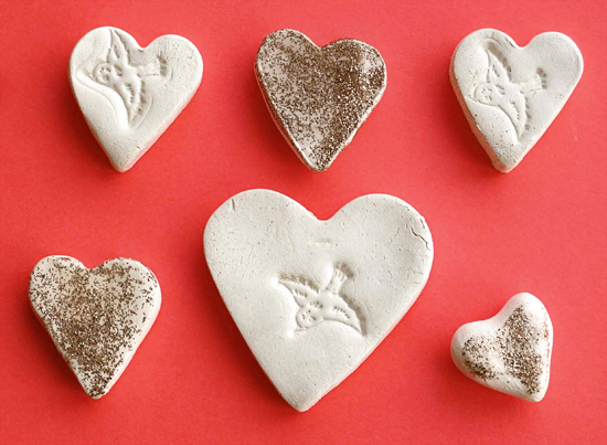 hand out some love tokens Clay, Craft and Clay crafts - valentine craftf