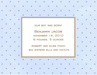 Boatman Geller Stationery Invitations, Announcements and Flat Notes