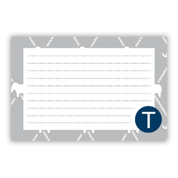 Dumbo Personalized Double-Sided Recipe Cards (Set of 24) by