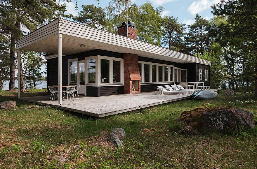 Mid-Century Modern Home In Sweden | Small House Bliss
