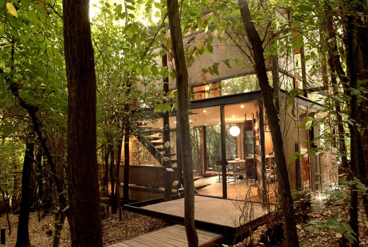 Houses In The Forest Casa Apolo 11 A Secluded Forest Home Parra 43 Edwards
