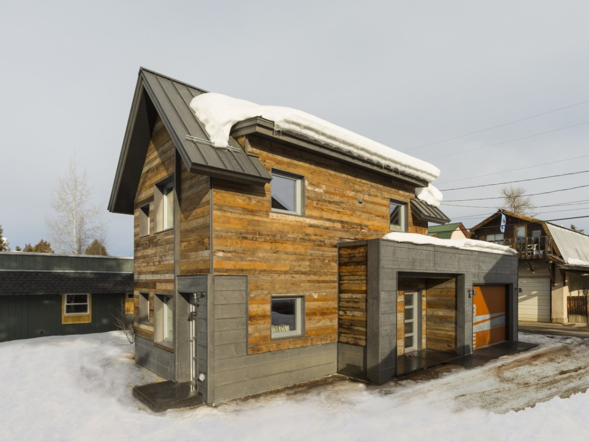 Designing A Small House The Diagon Alley Passive House In Colorado Workshopl