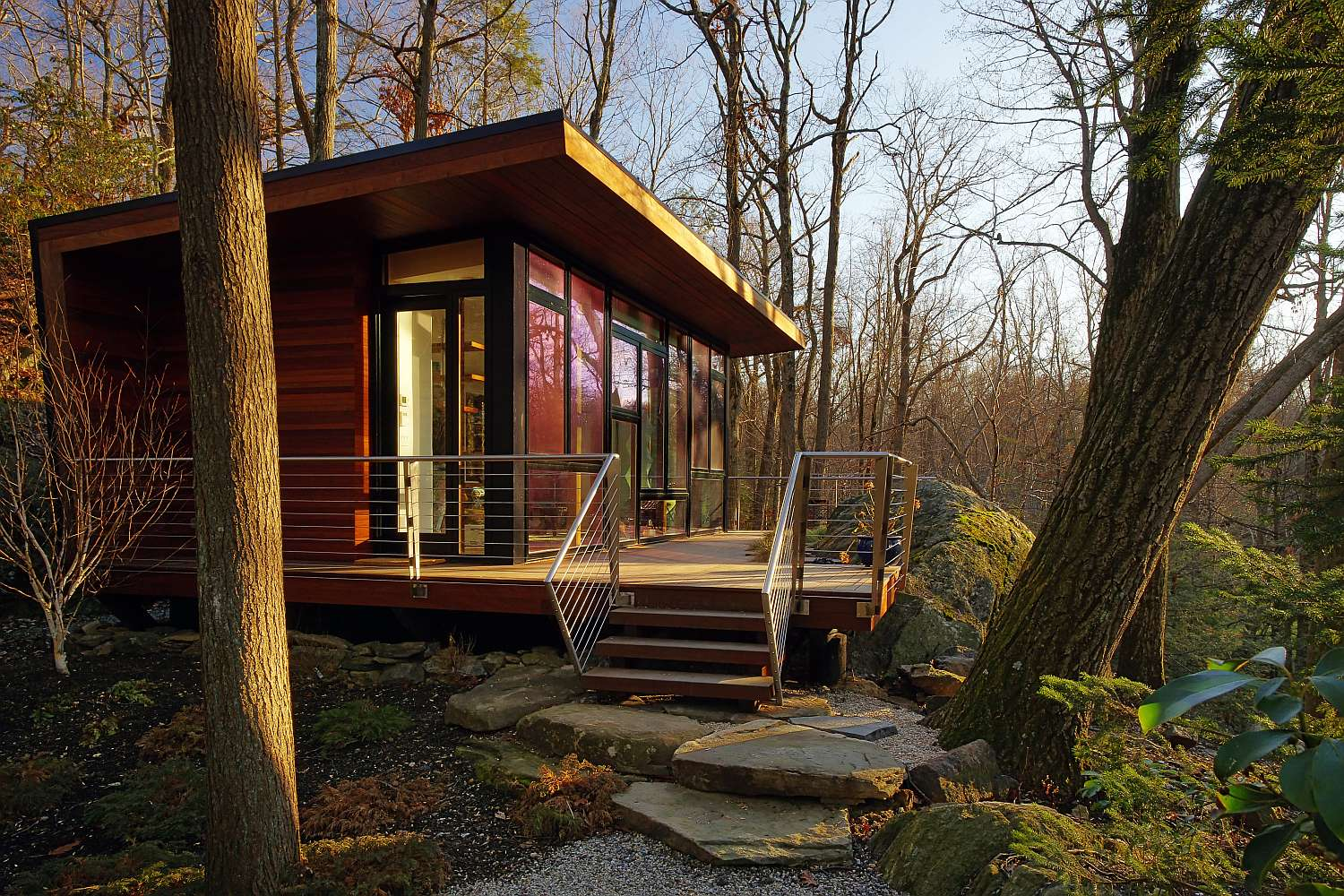 Houses In The Forest A Modern Studio Retreat In The Woods Workshop Apd