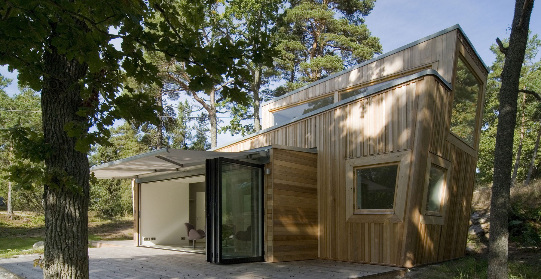 Sweden Houses Design Gallery A Low Impact Modern Cabin In Sweden Schlyter Gezelius