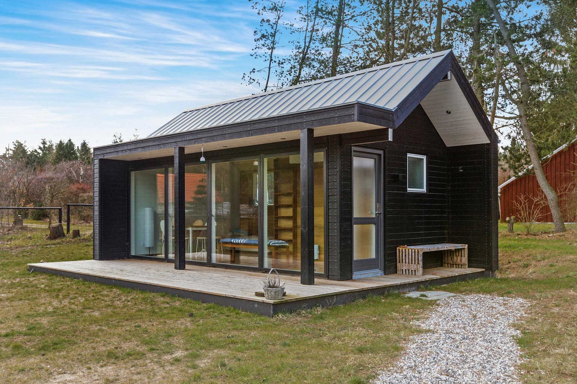 Tiny House With Garage Plans Scandinavian Modern Tiny House Simon Steffensen Small House Bliss