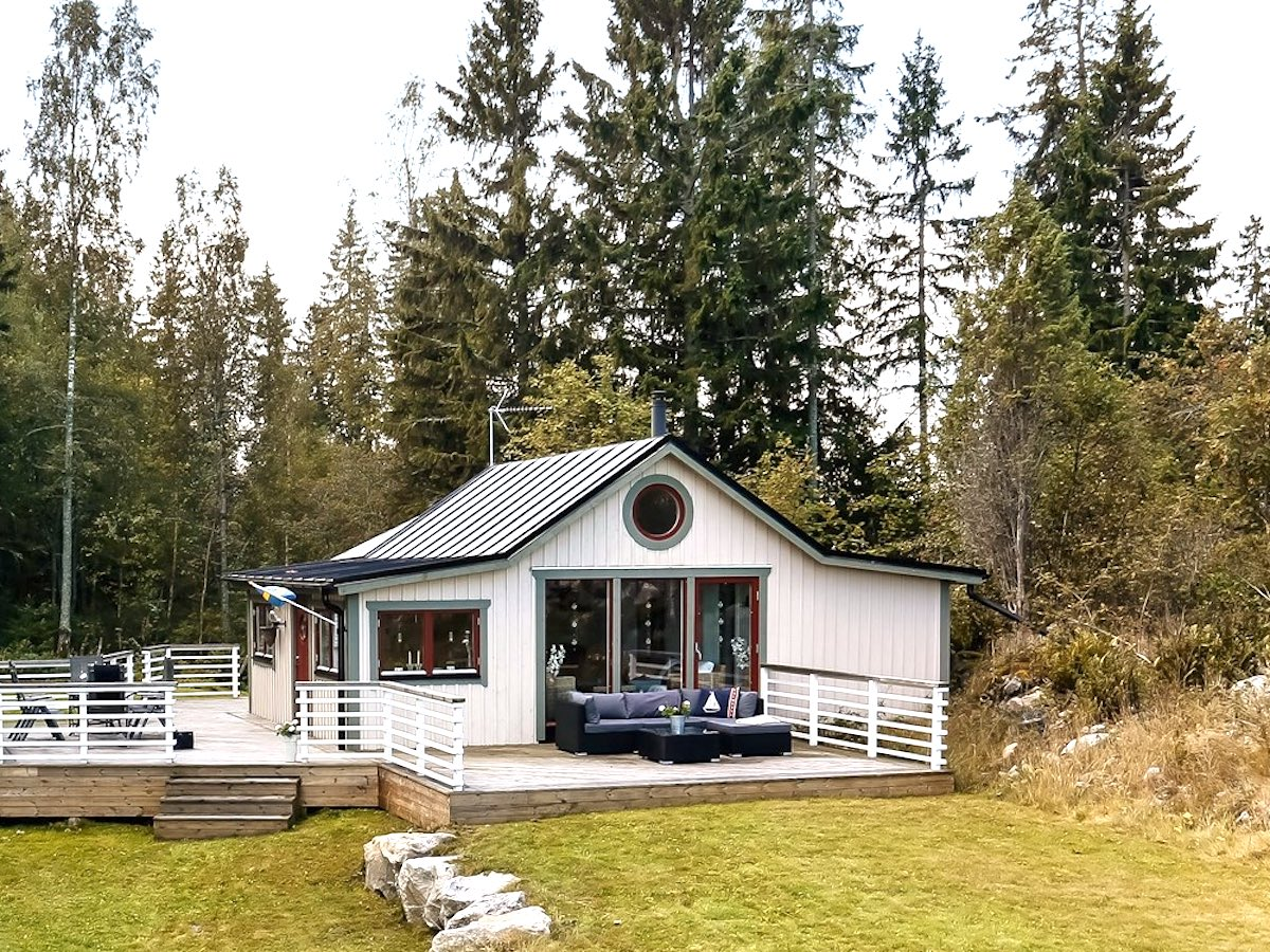 Scandinavia House Plans Off Grid Island Cottage In Sweden Small House Bliss