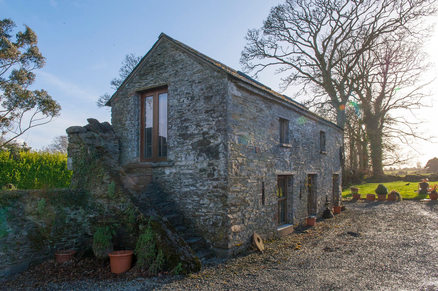Irish Stone Houses Gallery Crows Hermitage A Converted Stone Barn In