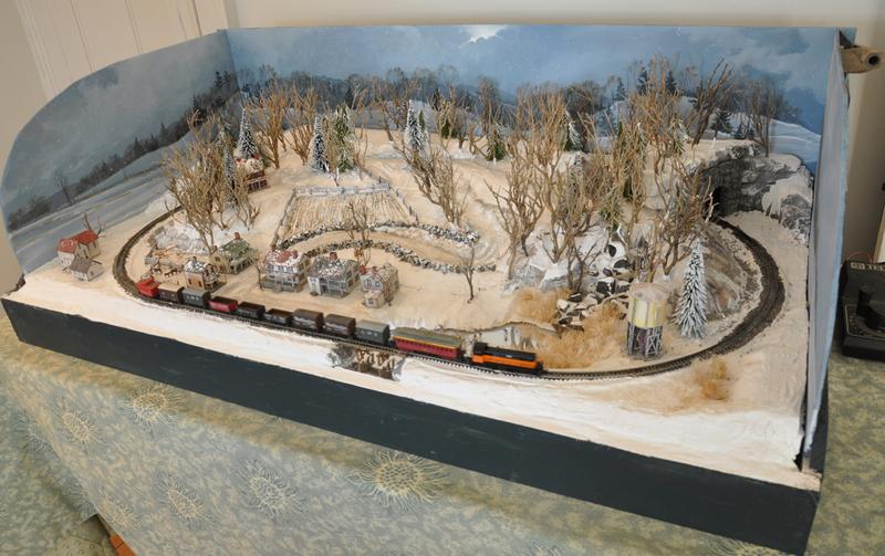 Christmas Display Layouts Small Model Railroads