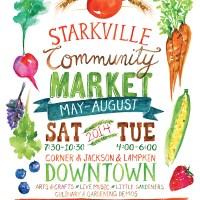 client work . 2014 Starkville Community Market
