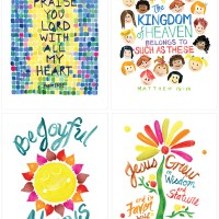 print shop . Kids' Worship Posters