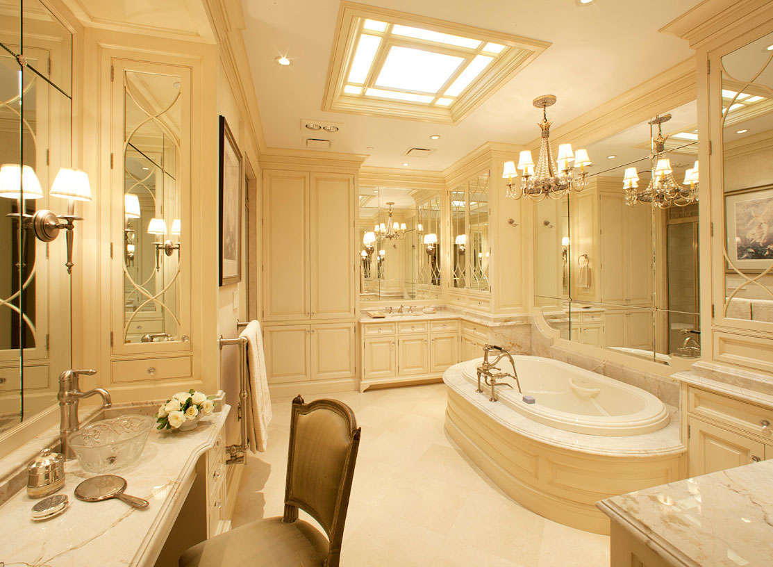 Small Master Bathroom And Closet Design Pic 07 Small Room Decorating Ideas
