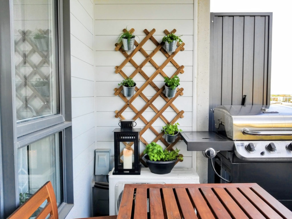 Balcony Planter Ikea Balcony Garden Ideas How To Plant An Urban Herb Garden
