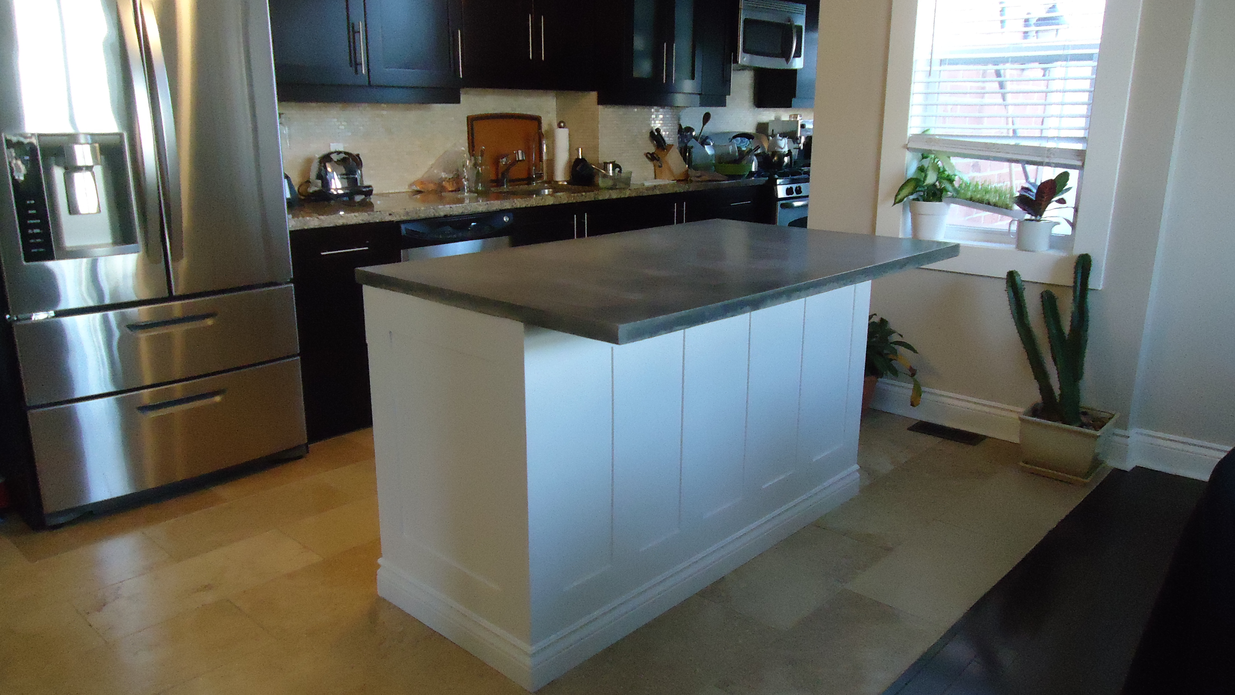 Stock Kitchen Cabinets Long Island Building A Kitchen Island | Small Space Style