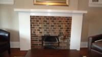 Easy Brick Fireplace Makeovers - Home Design Blog