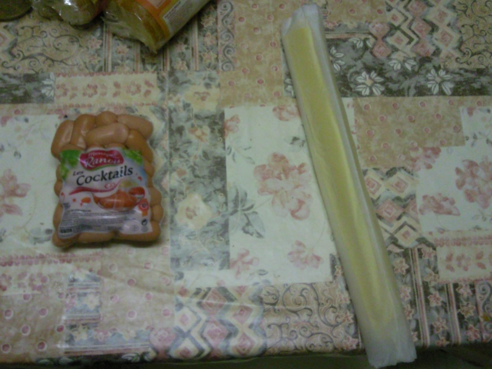 Pour des roulés c'est simple : pâte et saucissses