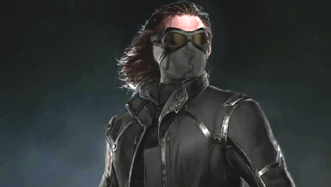Derrière le masque du Soldat de l'Hiver, une surprise pour le Capitaine.
