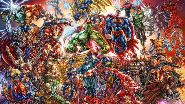 Super Héros DC Marvel