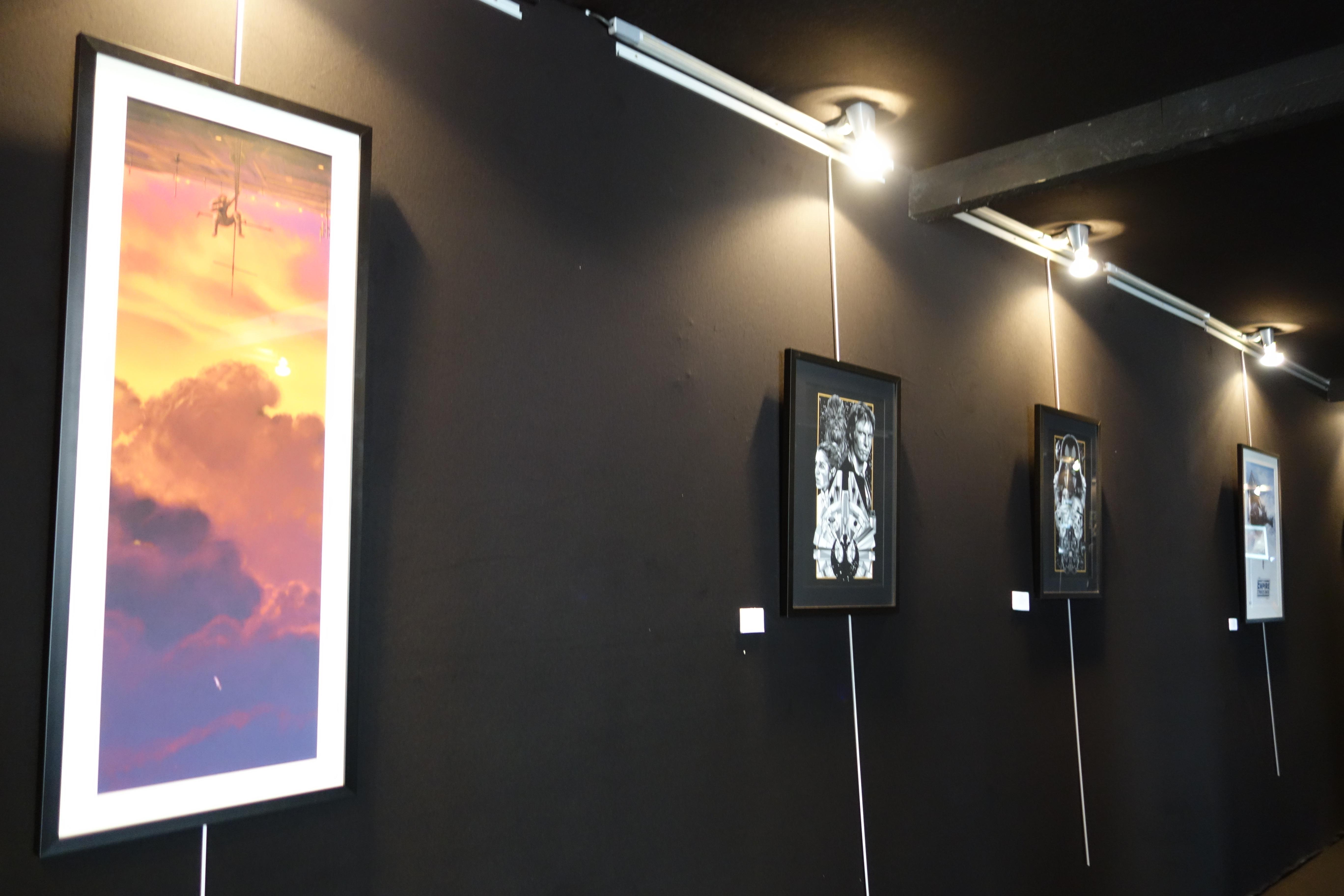 """""""Expo"""" Star Wars """"An Art Odyssey"""" de fanarts"""