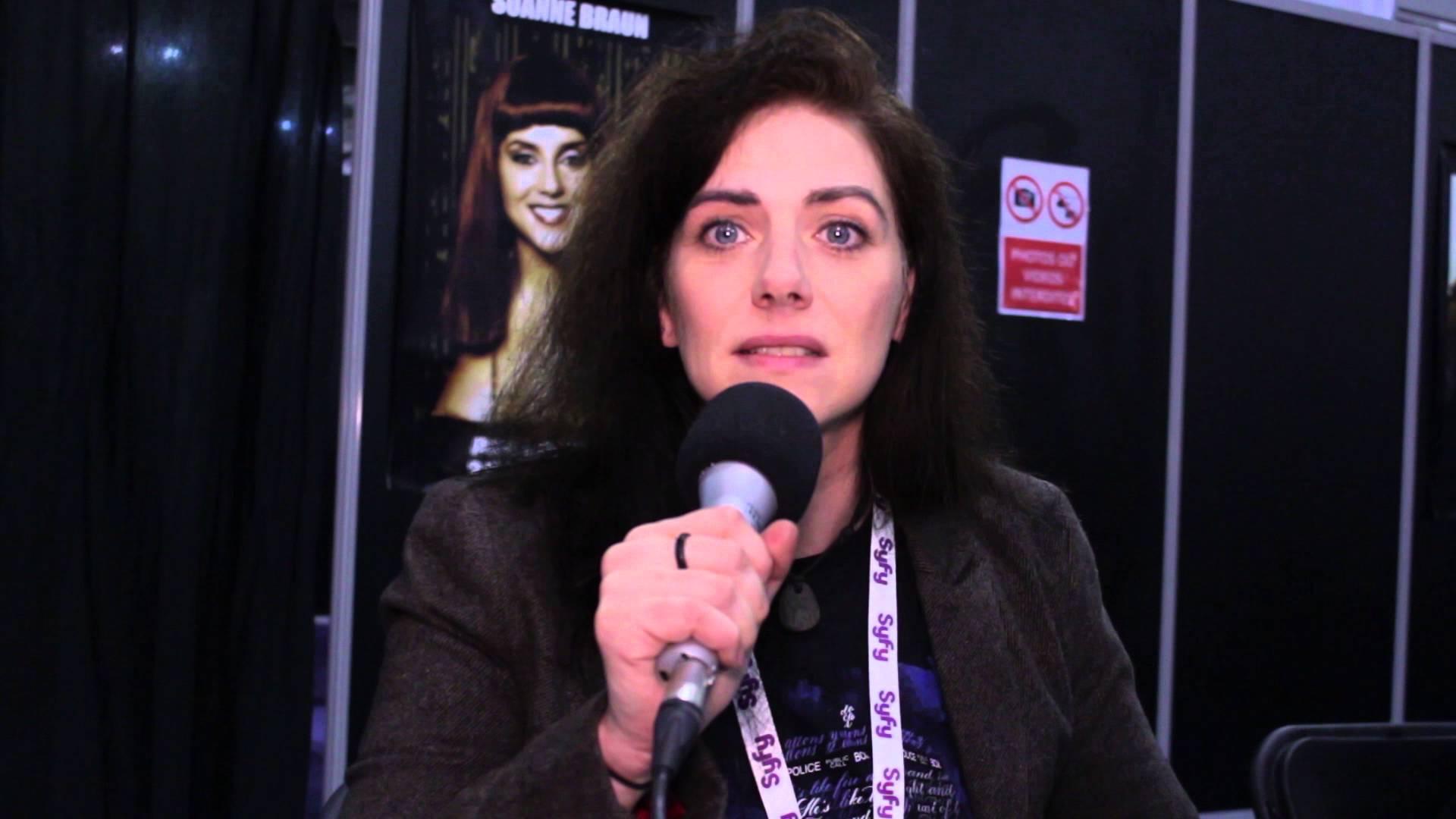 Neve McIntosh, alias Lady Vastra dans Doctor Who