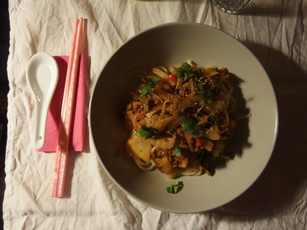 Sichuan Pork Ragu & Dolden Sud