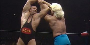 nwa starrcade 1986 flair vs koloff