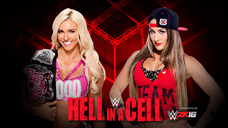 Charlotte vs. Nikki Bella – Hell in a Cell 2015