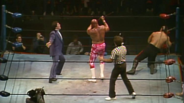 starrcade 1985 superstar billy graham vs the barbarian