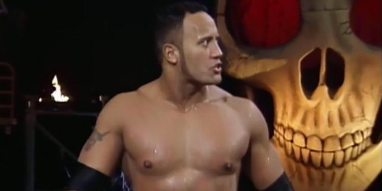 survivor series 1998 feature the rock