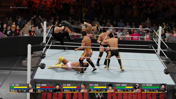 wwe 2k16 royal rumble