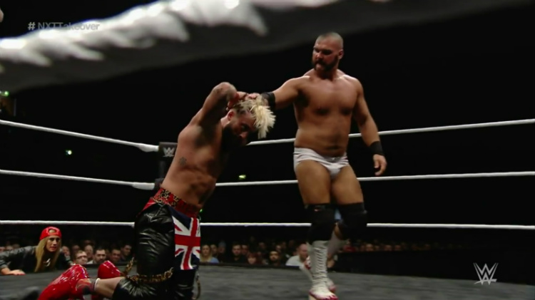 enzo amore big cass vs dash and dawson nxt takeover london