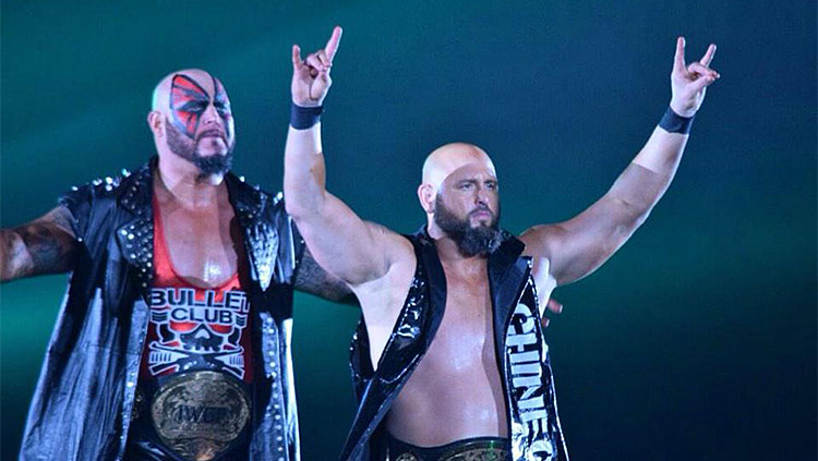 Doc Gallows ja Karl Anderson, NJPW