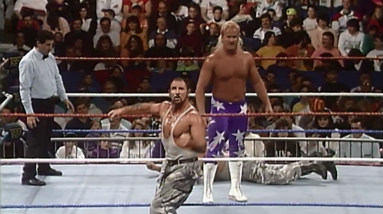 royal rumble 92 bushwhackers beverly brothers