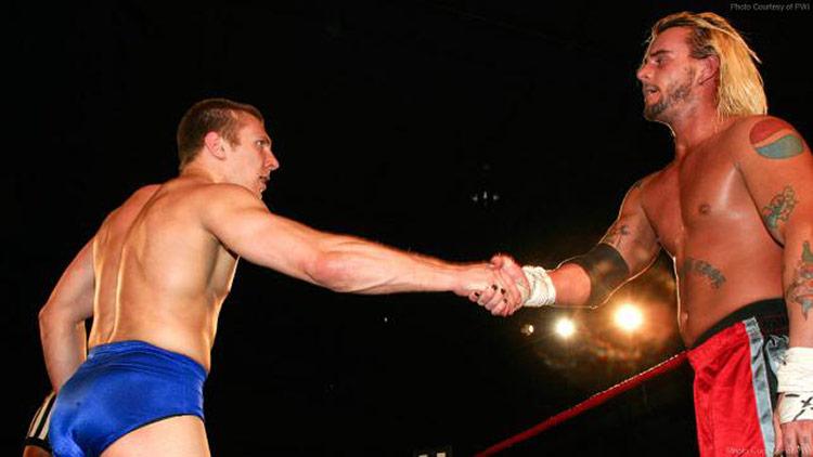 Bryan Danielson ja CM Punk, Ring of Honor.