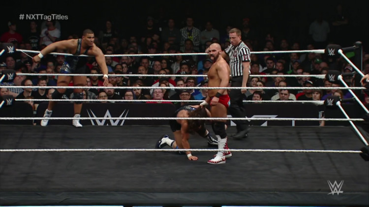 nxt takeover dallas american alpha vs revival