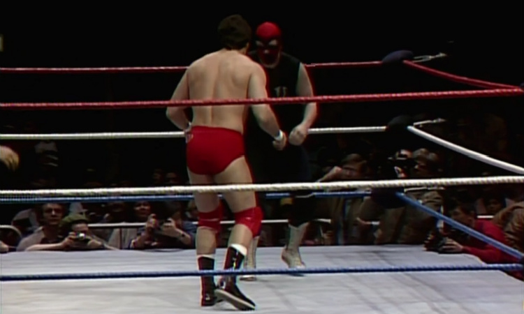 wrestlemania 1 santana vs executioner
