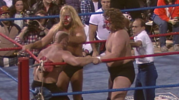 awa superclash fabulous freebirds vs road warriors