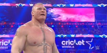 brock lesnar wrestlemania 32