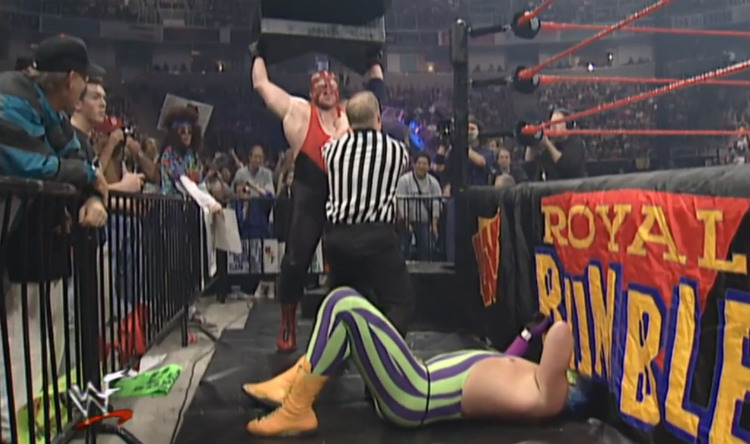wwf-royal-rumble-1998-vader-vs-goldust