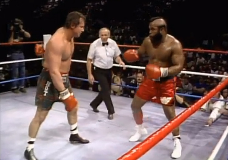 wrestlemania 2 roddy piper vs mr t